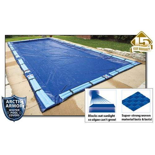 Arctic Armor WC976 15 Year 30' x 60' Rectangle In Ground Swimming Pool Winter Covers
