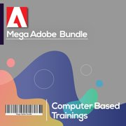 Mega Adobe Training Bundle , Online Training Videos & Exam Guide (7 Courses,150+hours)