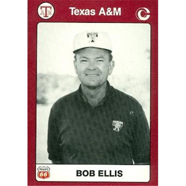 Coach Bob Ellis Golf Card (Texas A&M) 1991 Collegiate Collection No. 11