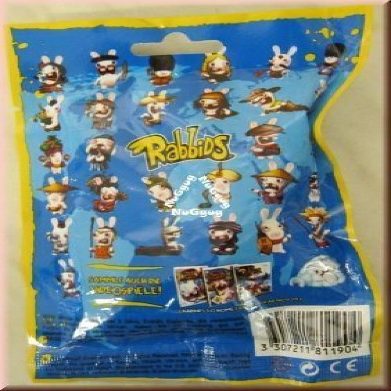 "Rabbids Invade the World   Erobern die Welt Blind Bag Assortment Rabbids approx 2.75"" tall 10 Single Bags by"