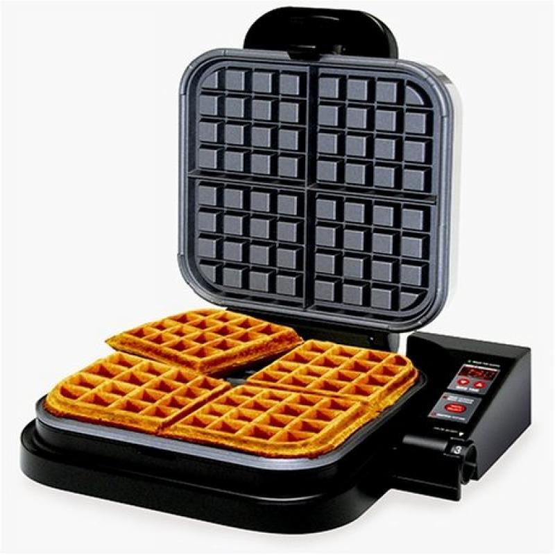 Edgecraft Chef's Choice 850 Taste-Texture Select WafflePro Belgian Waffle Maker