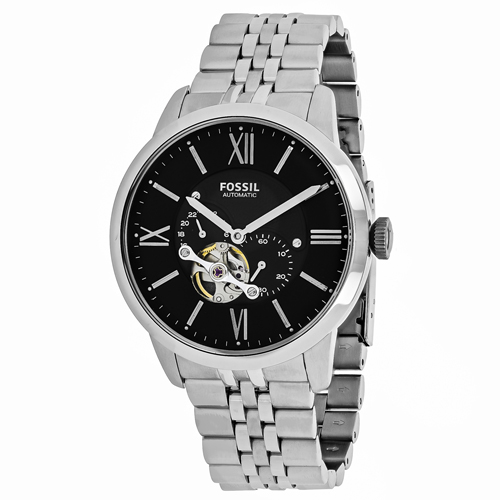 Fossil Men's Townsman Watch Automatic Mineral Crystal ME3107