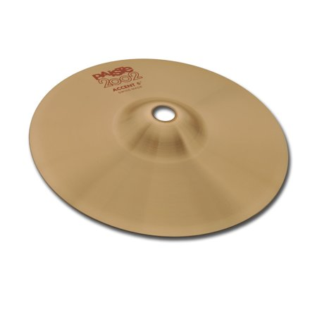 Paiste 1069306 2002 6 Inch Accent Cymbal With Muted & Separated Bell -
