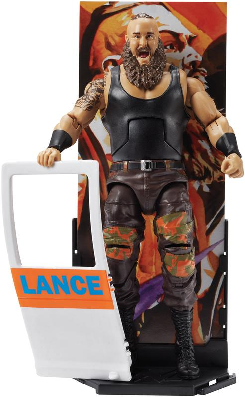 Braun Strowman WWE Elite 58 Toy Wrestling Action Figure by Mattel