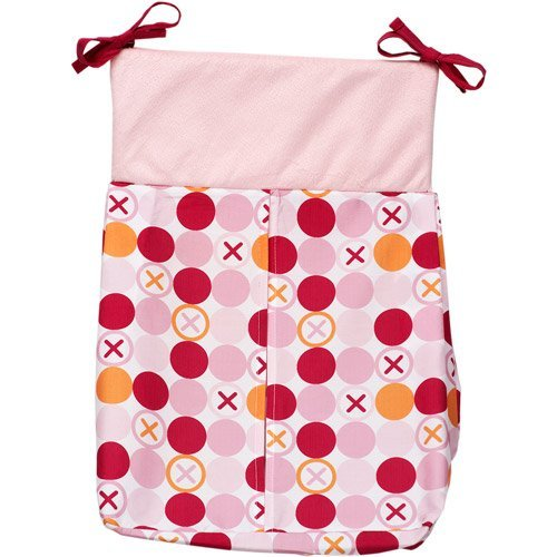 Hugs & Kisses Girl Diaper Stacker -, 65% Polyester/35% Cotton By Simply Baby