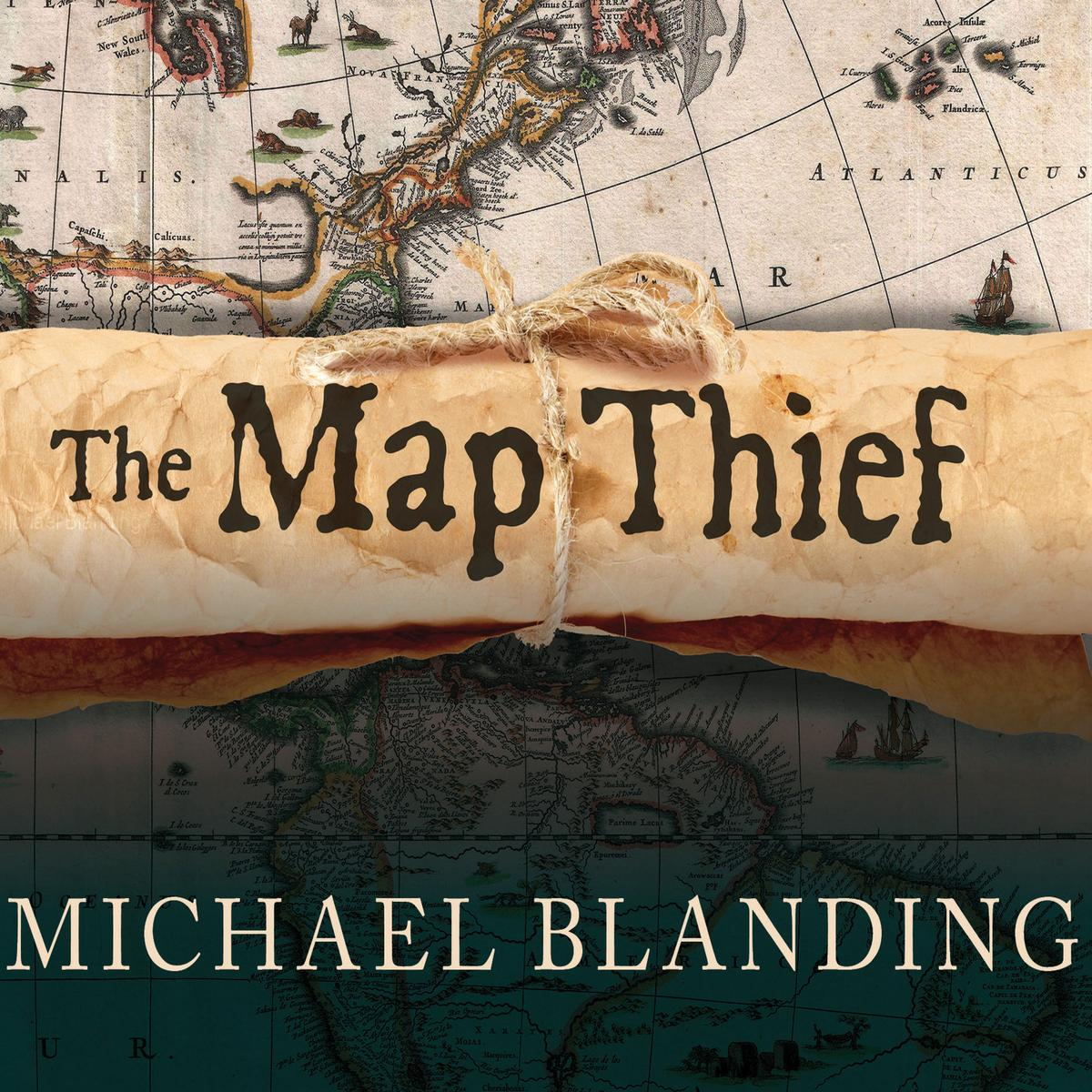 The Map Thief - Audiobook