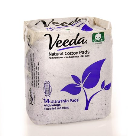 Veeda Ultra Thin Day Pads With Wings, 14 Ct - Wigs Next Day Delivery