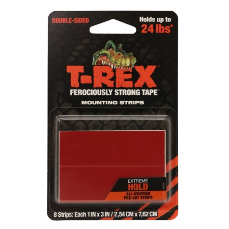 T-REX Strong Mounting Tape: 1 in. x 1/12 yds. (Black)