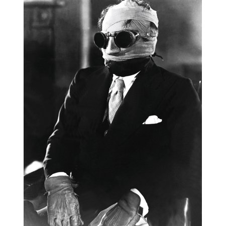 The Invisible Man Stretched Canvas -  (8 x 10)