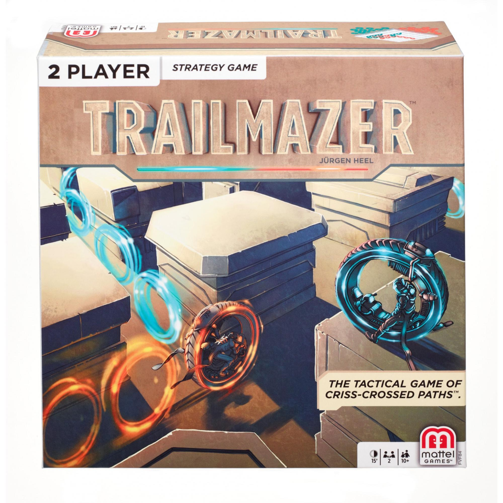 Trailmazer Fast-Paced Strategy Game for 2 Players Ages 10Y+