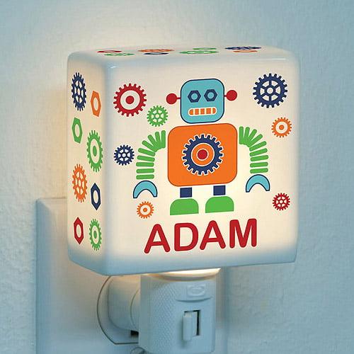 Personalized Robot Night Light