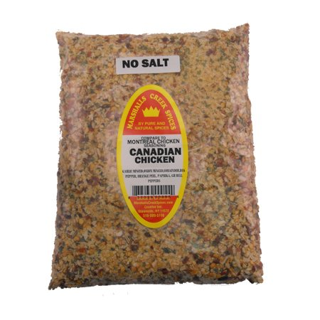 Marshalls Creek Spices CANADIAN CHICKEN NO SALT REFILL (COMPARE TO MONTREAL SEASONING ®)