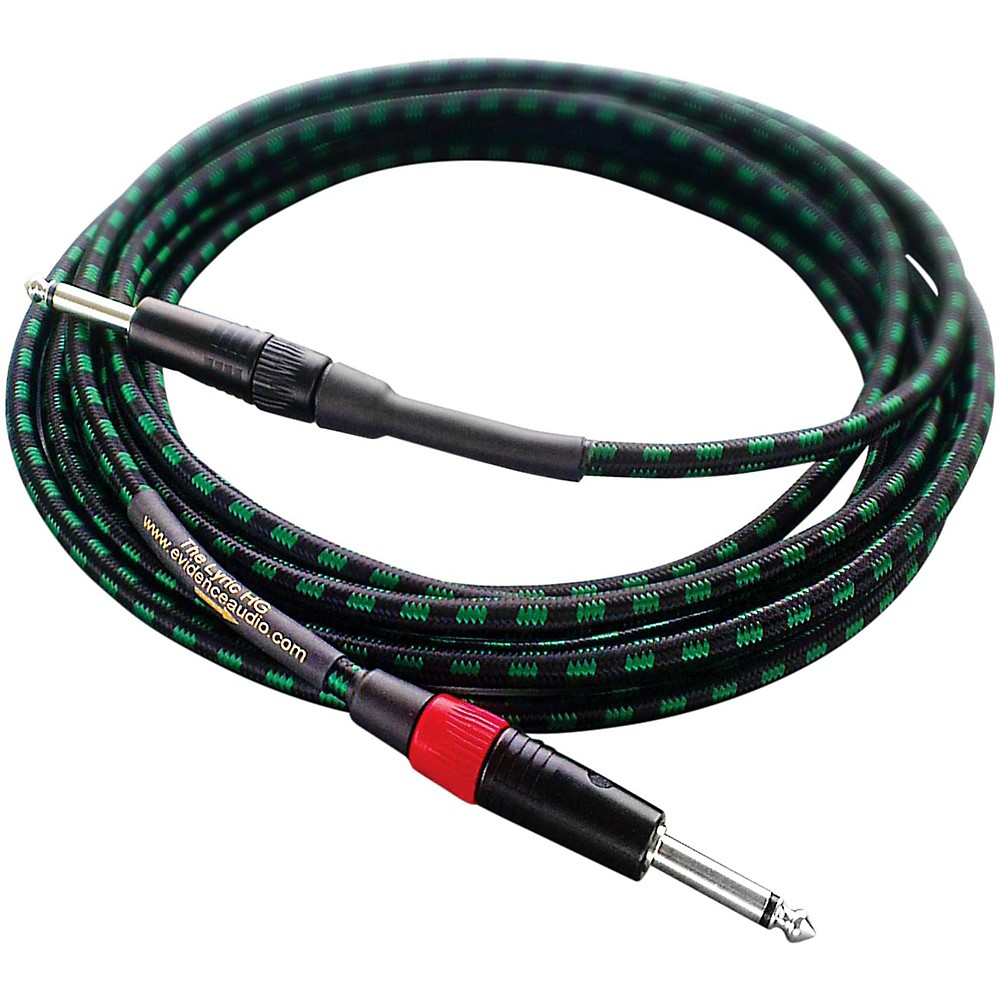 Evidence Audio Lyric HG Instrument Cable 15 ft. Straight to Straight 1 4 IN by Evidence Audio