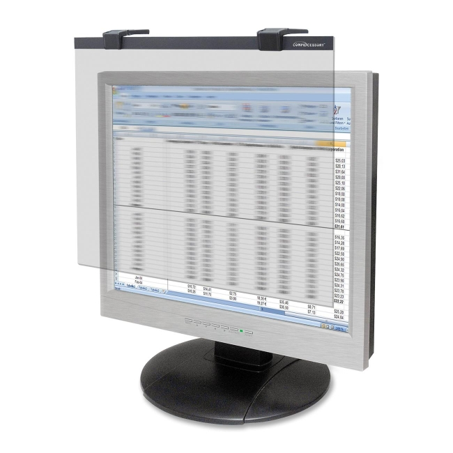 "Compucessory LCD Privacy Glare Filter, f/ 19-20"" Screen, Clear - CCS20512"
