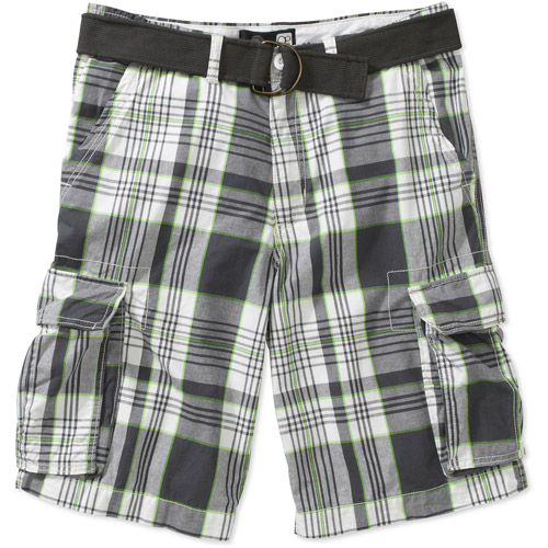Op Men's Cargo Twill Plaid Short - Walmart.com