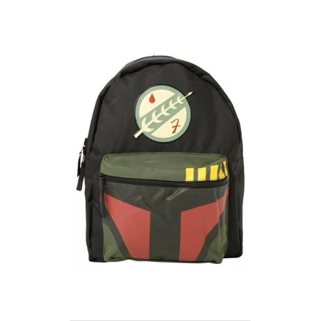 Star Wars Boba Fett/ Photo Panel Reversible Backpack - Boba Fett Jetpack Backpack