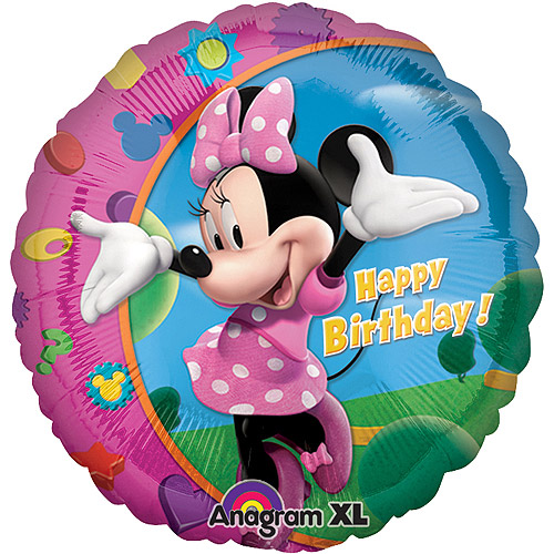 Minnie Bows Mylar Balloon