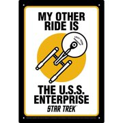 Star Trek Tin Concert Sign
