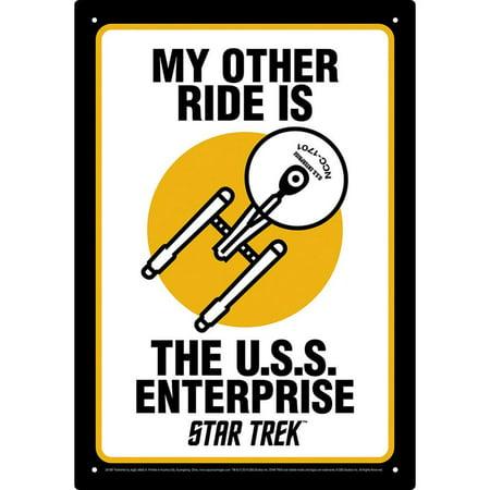 - Star Trek Tin Concert Sign