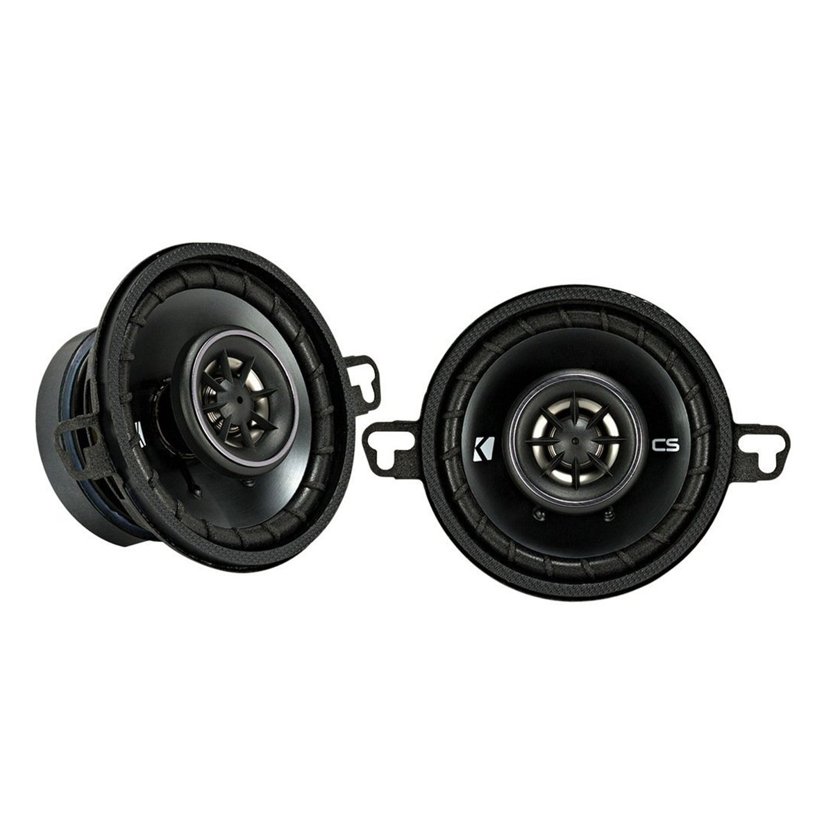 Kicker CSC35 90W 3.5 Inch 2-Way Coaxial Car Audio Speakers (Pair) | 43CSC354