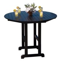 POLYWOOD® Captain Recycled Plastic35 x 35 in. Counter Height Table