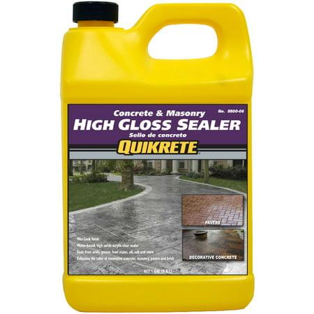 Quikrete High Gloss Sealer wet look gal ()