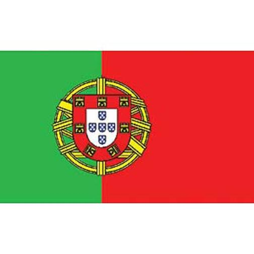 "Portugal Flag On A Stick 12"" x 18"""