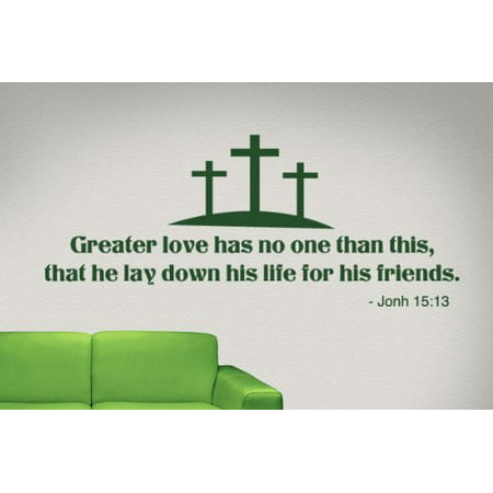 Greater love has no one than this that he lay down his life for his fr