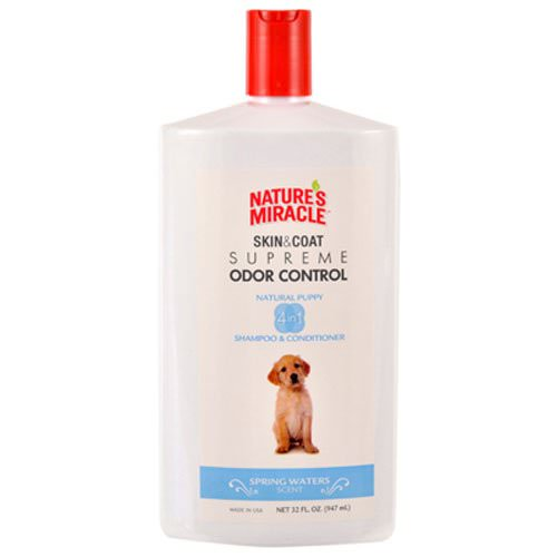 Nature's Miracle Supreme Odor Control Puppy Shampoo, 32oz by Spectrum Brands