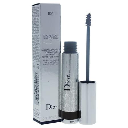 Diorshow Bold Brow Instant Volumizing Brow Mascara - 002 Dark by Christian Dior for Women - 0.16 - Dior Volumizing Mascara