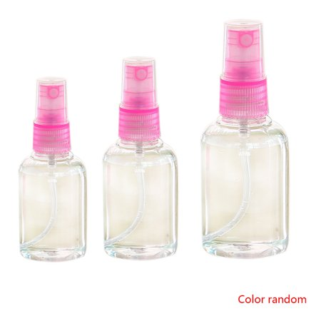 2b88b027b4cb 3pcs 30ml 50ml 100ml Portable Refillable Perfume Bottle Clear Plastic Spray  Bottle Empty Scent Pump Container Random Color