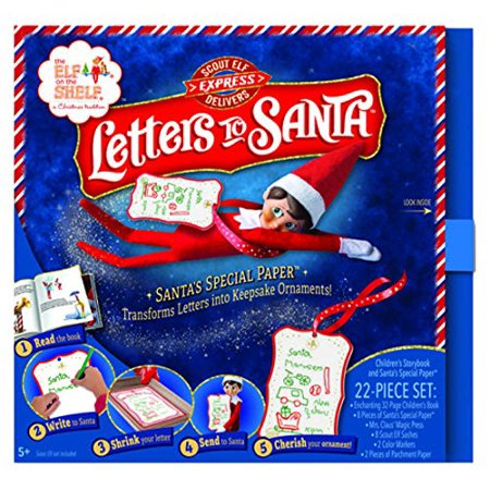 Scout Elf Express Delivers: Letters To Santa By The Elf on the Shelf