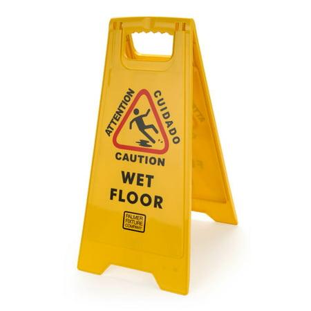 Palmer Fixture Caution Wet Floor Sign (Set of 10)
