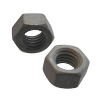 "1""-8 Hot-Dipped Galvanized Hex Nut (Quantity of 1)"