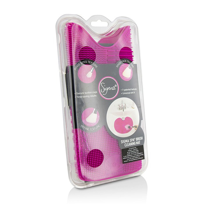 Sigma Beauty Spa Brush Cleansing Mat - -