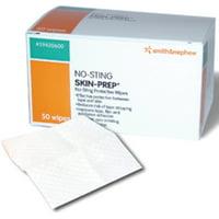 No-Sting Skin-Prep Wipes [54920600] 50 ea (Pack of 4)
