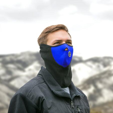 3 Pack: Neoprene Fleece Face Masks Camo Fleece Face Mask