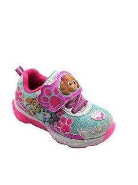 PAW Patrol Toddler Girls' Lighted Athletic Sneaker