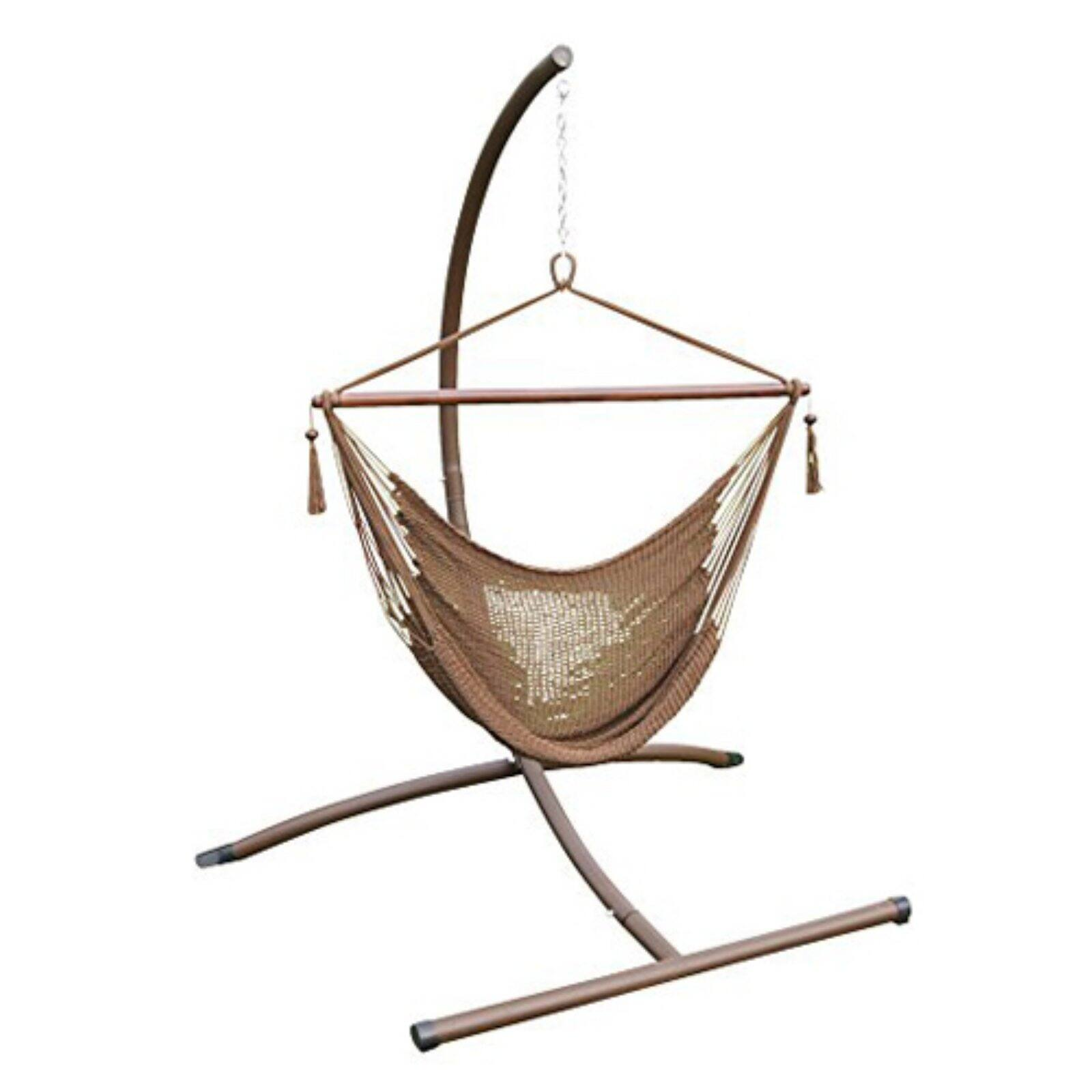Phat Tommy Rope Hammock Chair and Stand Set - Walmart.com ...