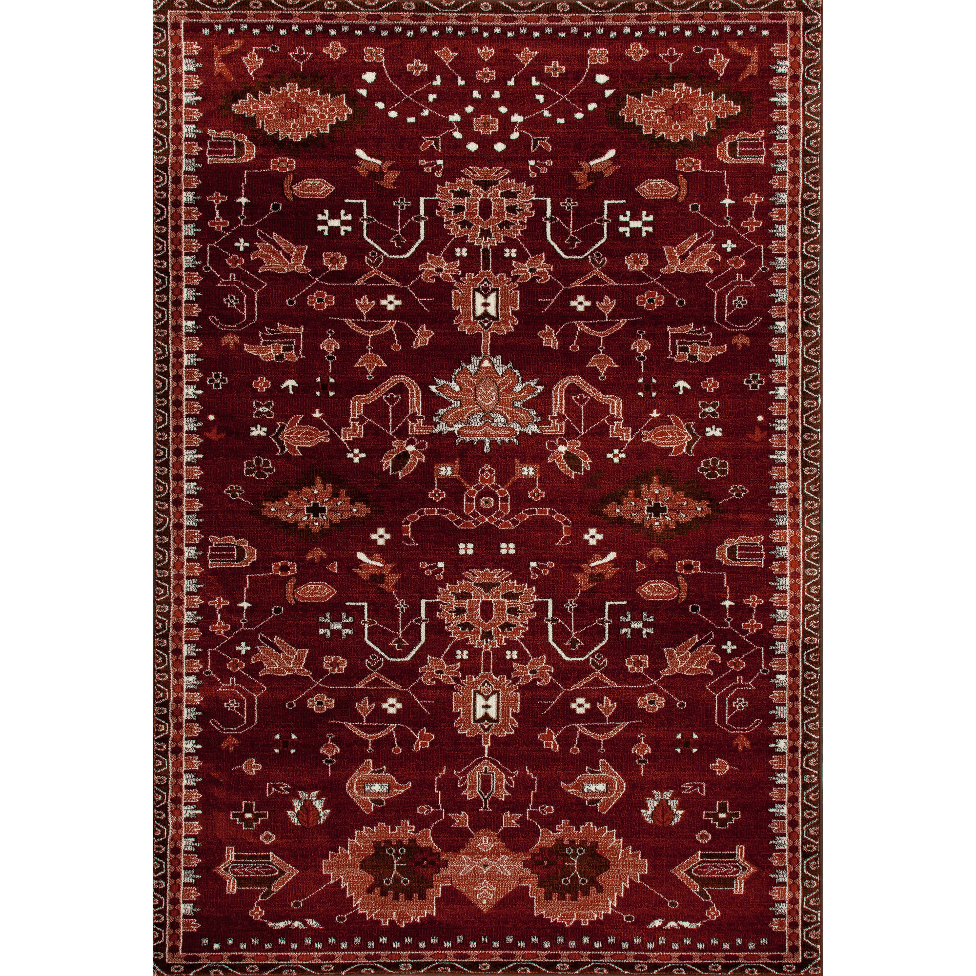 Traditional Classic Woven Area Rug, 40