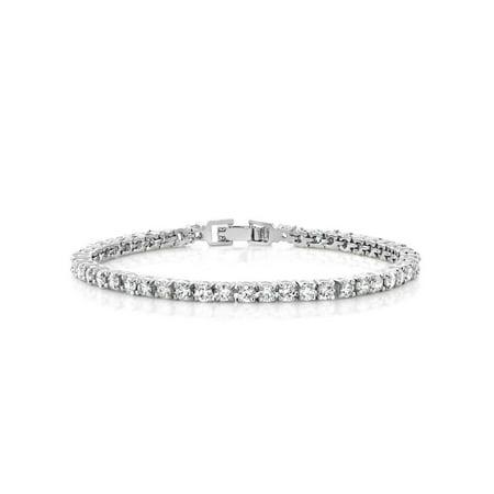 Anderson Bracelets - 10.00 Ct Round Cut Stunning Cubic Zirconia CZ 7