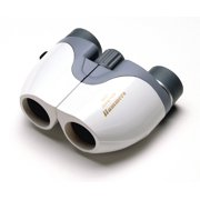 Hammers 8x21 Small Compact Pocket Size Porro Prism Travel Binocular Opera Glass, Glossy White
