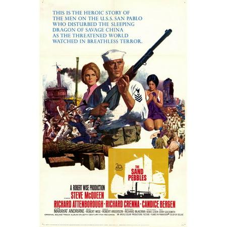 The Sand Pebbles (1966) 11x17 Movie - 1966 Batman Movie Poster
