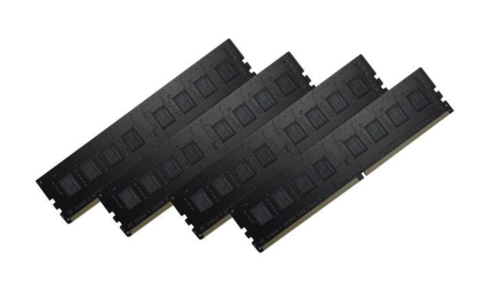 32GB G.Skill DDR4 NT Value Range 2400MHz PC4-19200 Quad Channel kit (CL15-15-15-35) 4x8GB Modules