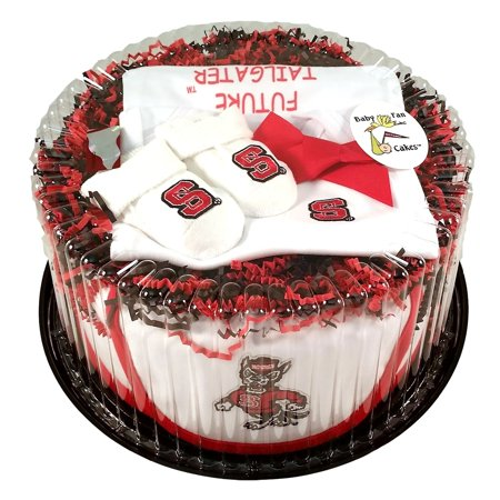 North Carolina State Wolfpack Baby Fan Cake Clothing Gift Set