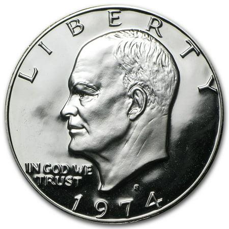 Silver Dollar Gem Proof (1974-S 40% Silver Eisenhower Dollar Gem Proof)