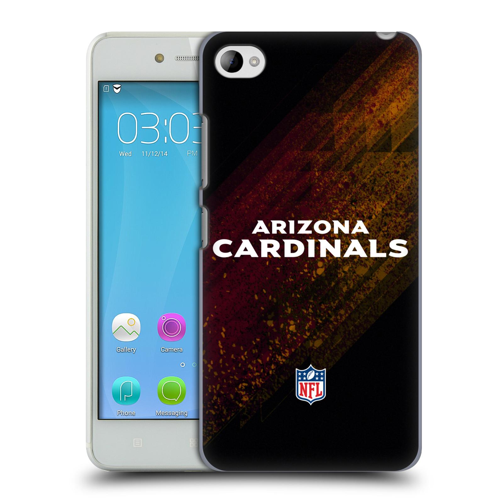 OFFICIAL NFL ARIZONA CARDINALS LOGO HARD BACK CASE FOR LENOVO PHONES