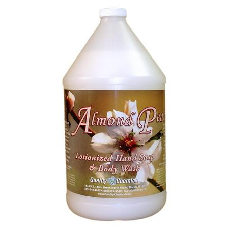 Almond Pearl Luxury Hand Soap - 1 gallon (128