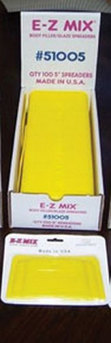 "E-Z MIX Plastic Filler// Glaze Spreaders 5/"" Body Filler//glaze Spreaders E-Z Mix"