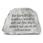 Our Hearts Still Ache Memorial Stone